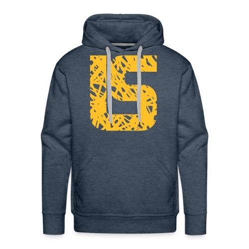Sweatshirt à capuche Homme LS design - Sweat-shirt à capuche Premium pour hommes