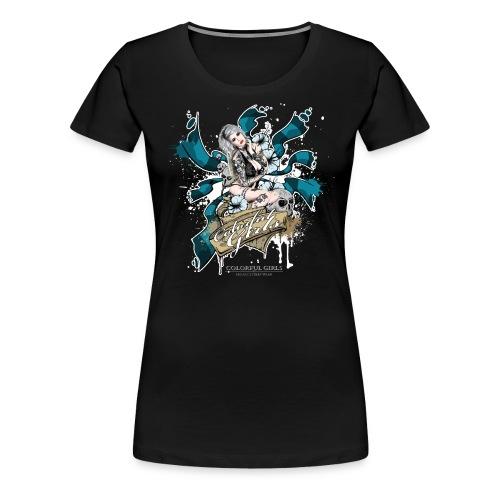 Sandra 2 - Frauen Premium T-Shirt