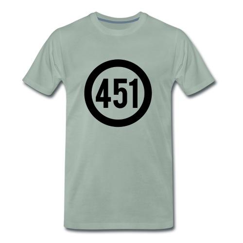 Fahrenheit 451 - Männer Premium T-Shirt