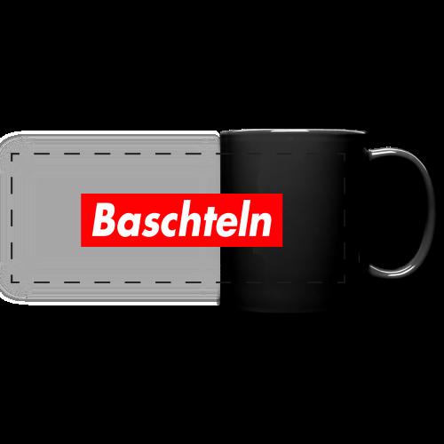 Baschteln Tasse - Panoramatasse farbig