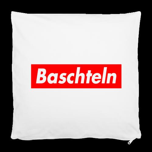 Baschteln Kissen - Kissenbezug 40 x 40 cm