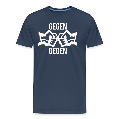 Gegen Gegen - Männer Premium T-Shirt