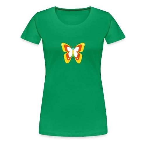 Schmetterling Falter Insekten Frühling Sommer - Frauen Premium T-Shirt