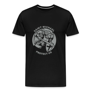 ST MICHAEL PROTECT US - Men's Premium T-Shirt
