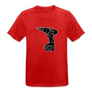 Akkuschrauber 2 - Männer T-Shirt atmungsaktiv