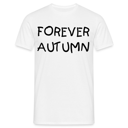 Forever Autumn Print t  - Men's T-Shirt
