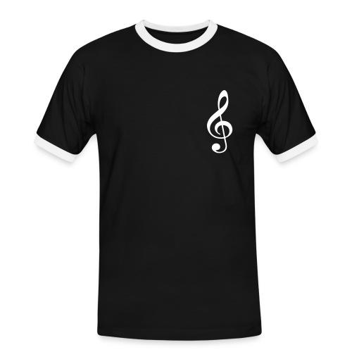 Musica - Maglietta Contrast da uomo