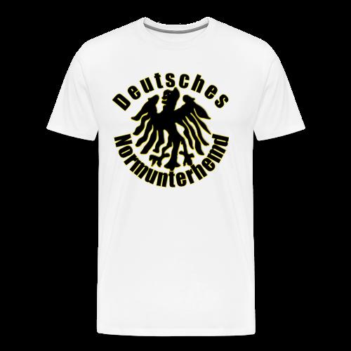 Normunterhemd2 - Männer Premium T-Shirt