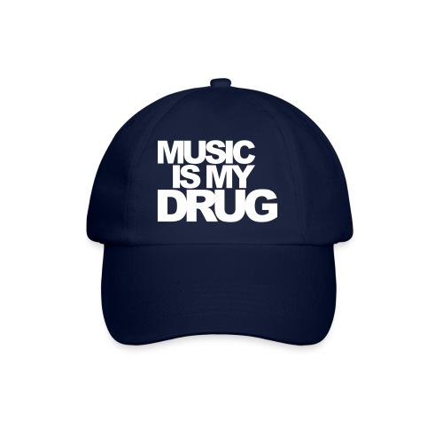 music is my drug - Baseball Cap