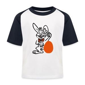 Osterei - Kinder Baseball T-Shirt