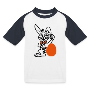 Osterei - Kinder Baseball T-Shirt