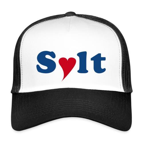 Sylt mit Herz - Trucker Cap