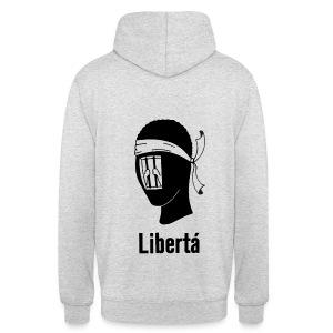 LIBERTA PER I PATRIOTTI - Sweat-shirt à capuche unisexe