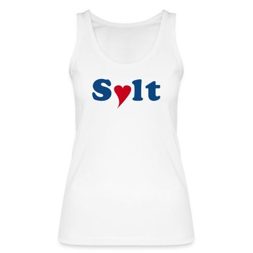 Sylt mit Herz - Frauen Bio Tank Top von Stanley & Stella