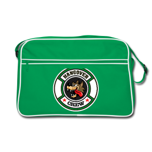 St Patricks Day Hangover Party - Retro Tasche