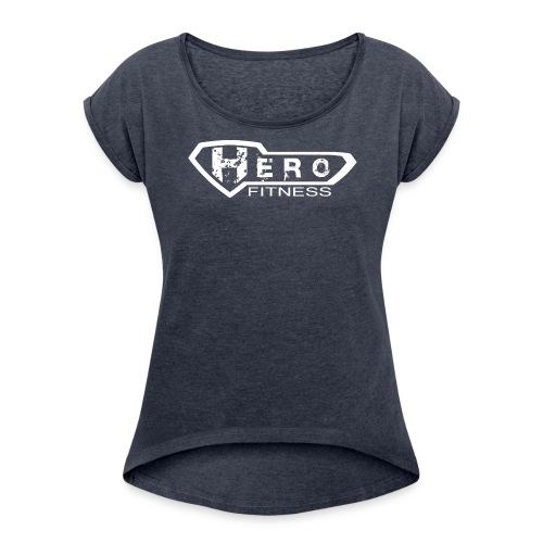 Heroes - DAM 2 - T-shirt med upprullade ärmar dam