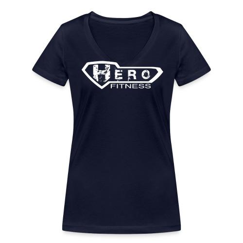 Heroes - DAM 6 - Ekologisk T-shirt med V-ringning dam från Stanley & Stella