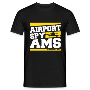 Airport Spy AMS (Free Choice of Colors) - Men's T-Shirt
