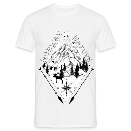 Norway Nature  - Männer T-Shirt