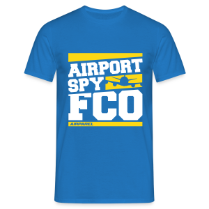Airport Spy FCO (Free Choice of Colors) - Men's T-Shirt