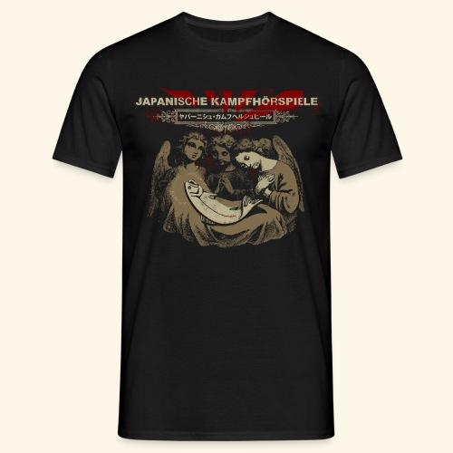 JAPANISCHE KAMPFHÖRSPIELE - Jesus - Männer T-Shirt