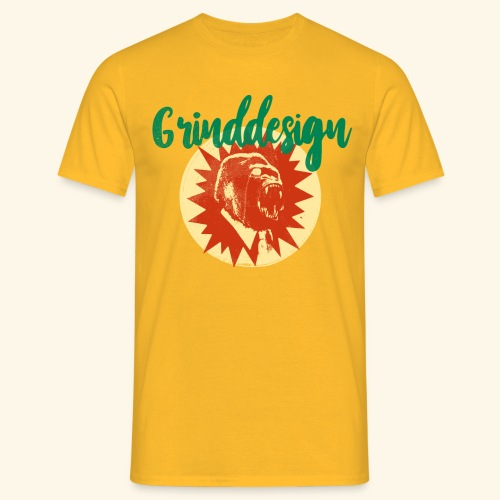 GRINDDESIGN BRAZIL VINTAGE - Männer T-Shirt