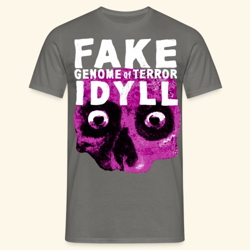 FAKE IDYLL - Männer T-Shirt