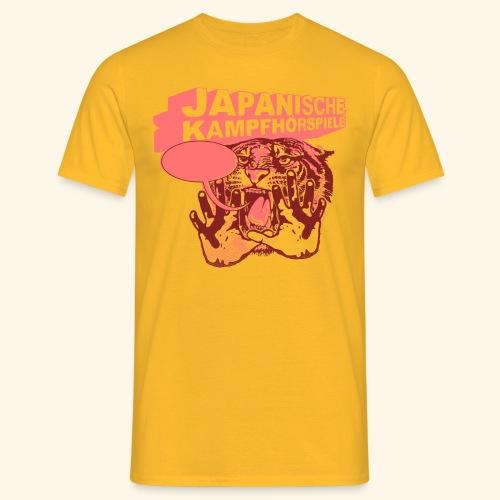 JAPANISCHE KAMPFHÖRSPIELE - Tiger - Männer T-Shirt