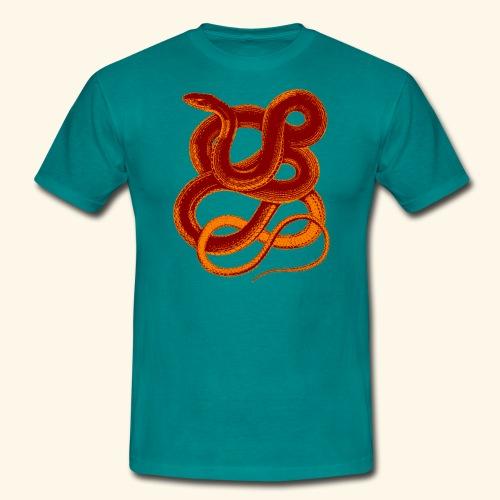 Snake - Männer T-Shirt