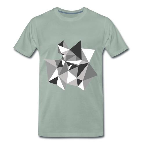 3D T-Shirt - Männer Premium T-Shirt
