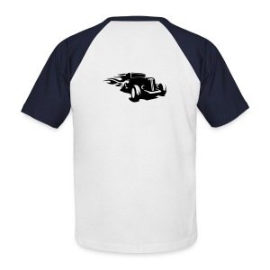 car hot road - T-shirt baseball manches courtes Homme