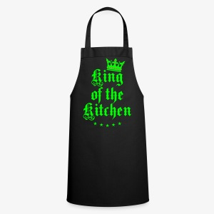King of the Kitchen cook Koch Krone Crown Schürze 04 - Kochschürze