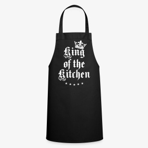 King of the Kitchen cook Koch Krone Crown Schürze 05 - Kochschürze