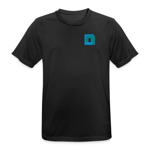duana.net auf der Brust - Männer T-Shirt atmungsaktiv
