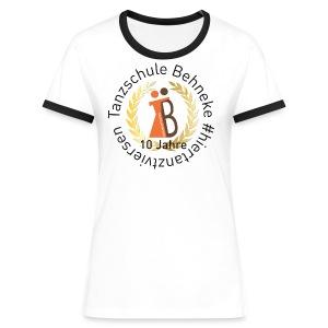 10 Jahre TS - T-shirt - Herren - Frauen Kontrast-T-Shirt