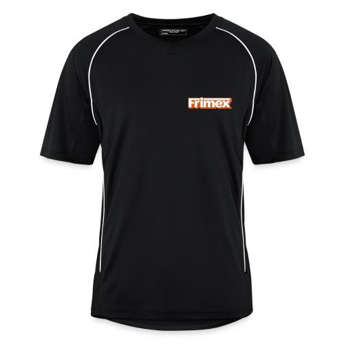 Frimex Trikot Orange auf der Brust - Männer Fußball-Trikot