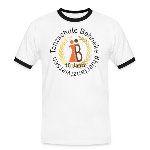 10 Jahre TS - T-shirt - Herren - Männer Kontrast-T-Shirt