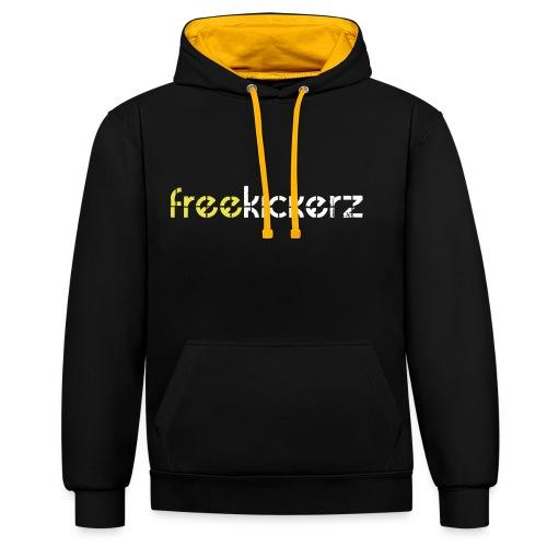 hoodie 2 colors - premium - Kontrast-Hoodie