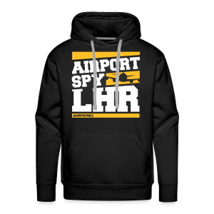 Airport Spy LHR (Free Choice of Colors) - Men's Premium Hoodie