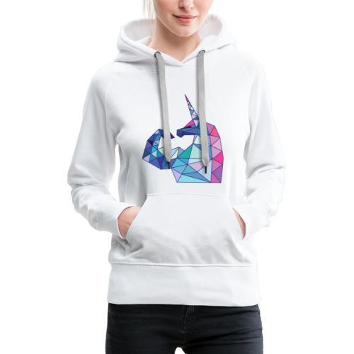 Bizepseinhorn Poly-Design - Frauen Premium Hoodie - Frauen Premium Hoodie