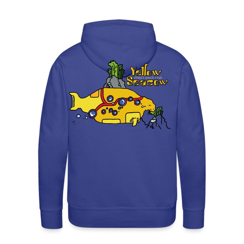 Friedem. Zschiedrich Yellow Seacow - Männer Premium Hoodie