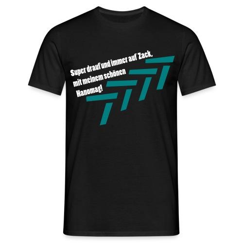 Hanomag T-Shirt schwarz - Männer T-Shirt