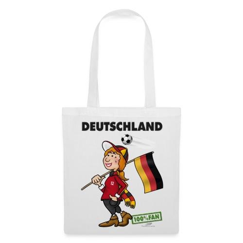 Fantasche Deutschland Girl 1 - Stoffbeutel