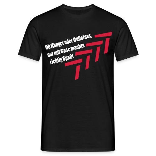 Case - T-Shirt schwarz - Männer T-Shirt