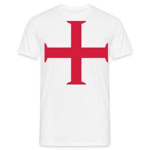 george cross  - Men's T-Shirt