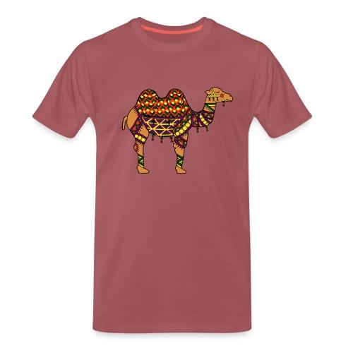 Kamel Shirt für Herren - Männer Premium T-Shirt