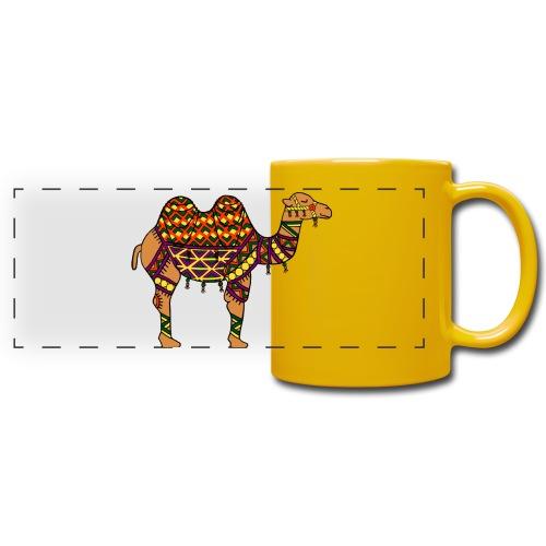 Wüsten Kamel Tasse - Panoramatasse farbig