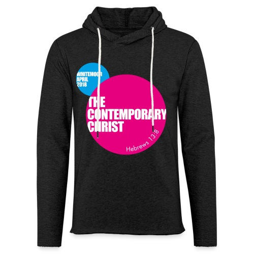 Project 242 Contemporary Christ Lightweight Hoodie - Light Unisex Sweatshirt Hoodie