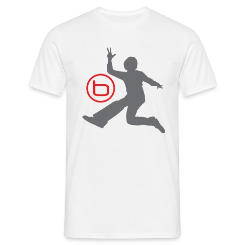 Benjamin - T-Shirt, Vit - T-shirt herr
