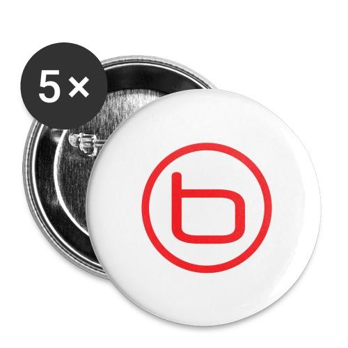 Benjamin - Knapp - Stora knappar 56 mm (5-pack)